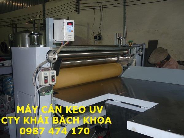 máy cán keo UV